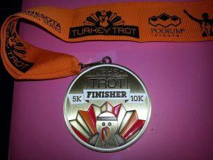 finisher medal!