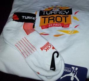 The shirt and socks!